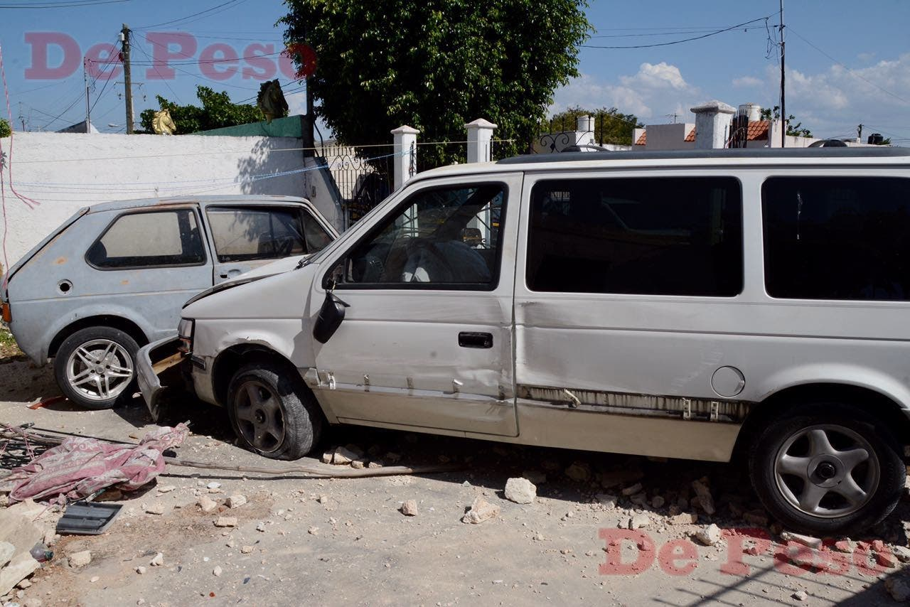 Accidente vial en fraccionamiento Mulsay