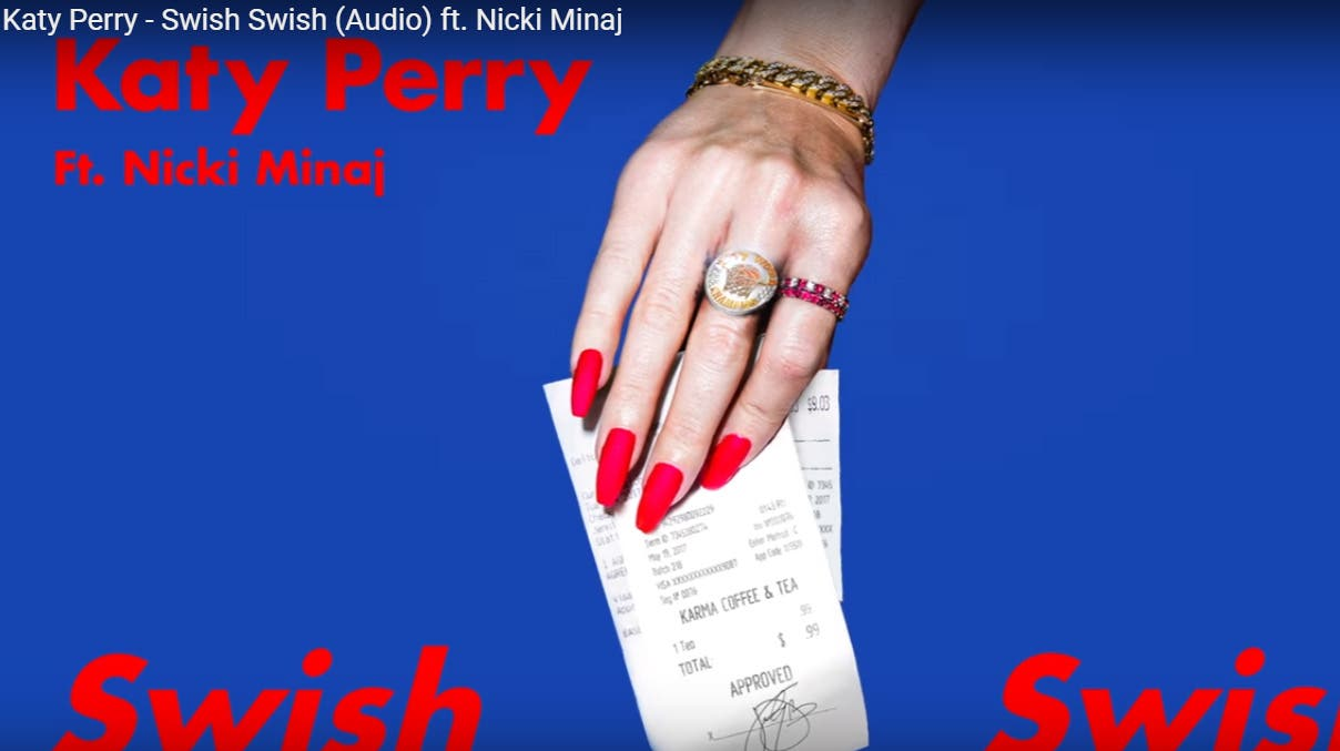"estrena Katy Perry sencillo con Nicki Minaj: ""Swish Swish"