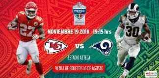 Rams vs Chiefs, NFL en México