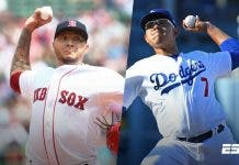 Dodgers y Medias Rojas con 'power mexicano'
