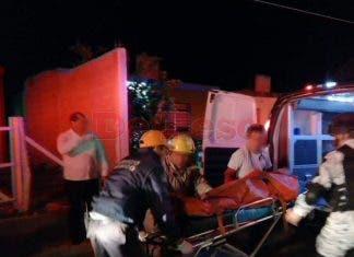 Los bomberos inspeccionaron el sitio para descartar cualquier tipo de riesgo.