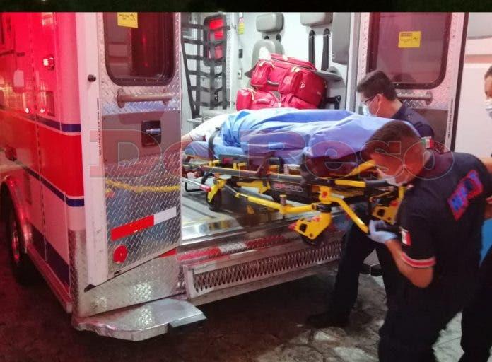 Los elementos de policia municipal aseguraron el Hospital Genral por el temor del rescate de alguno de los delicuentes.