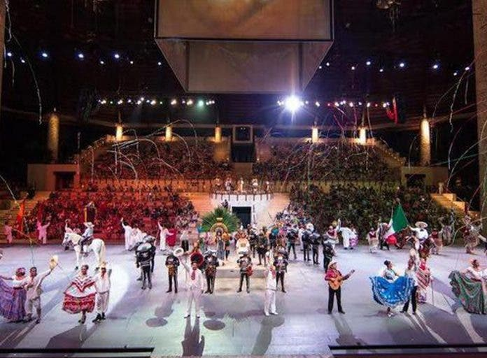 Transmitirá en vivo por primera vez el show Xcaret México Espectacular