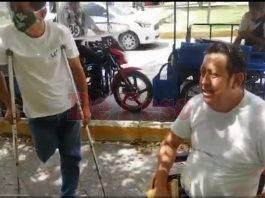 """""""Queremos que erradiquen a todas las agrupaciones de mototaxis que existen y que les den el valor necesario a las personas con discapacidad en este servicio"""", puntualizó."""