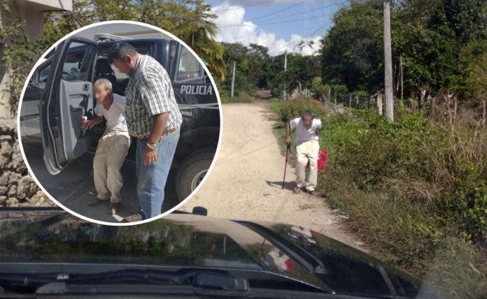 abuelito-escapa-para-no ir-al médico