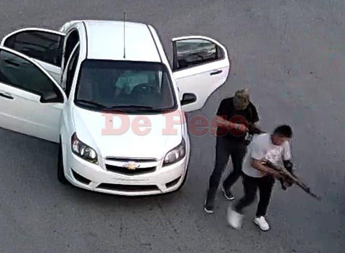 Horas más tardes autoridades encontraron el vehículo donde los hombres armados se transportaban en la Supermanzana 4.