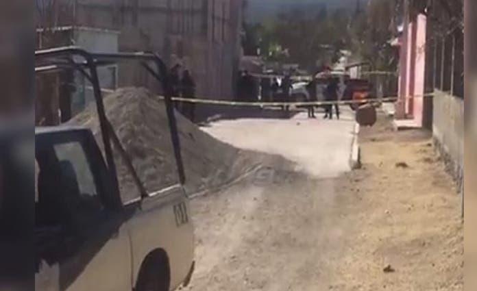 Al sitio acudieron elementos de diversas corporaciones, así como peritos de la Fiscalía General de Justicia del Estado de Puebla.
