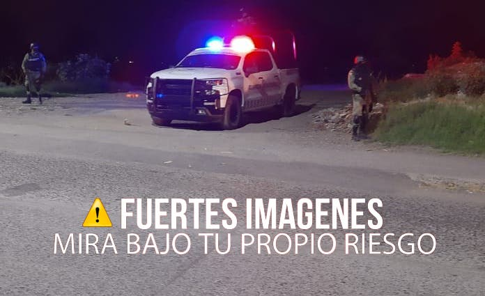 Al lugar llegaron elementos de la Policía Estatal y militares quienes acordonaron la zona y tomaron conocimiento de los hechos.