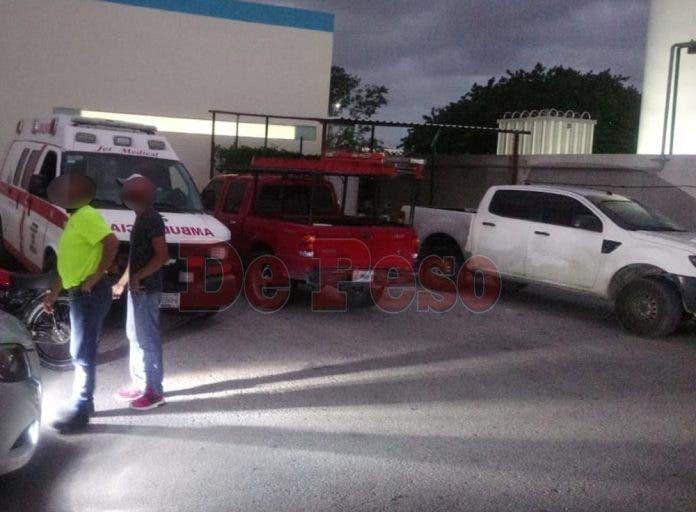 En el mismo vehículo donde fue baleado, la victima fue llevado de emergencia al Hospital General, pero no lograron salvarle la vida.
