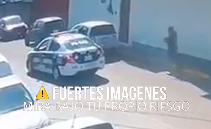 Más unidades policiales arribaron para acordonar el sitio en espera del inicio de la investigación correspondiente.