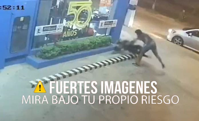 Hombre golpea brutalmente a su ex pareja por que no regresar (Video)