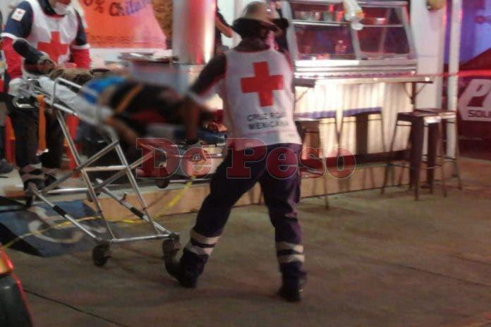Con la muerte del joven taquero minutos después de ser ingresado al Hospital General por las heridas que le causaron los proyectiles de arma.
