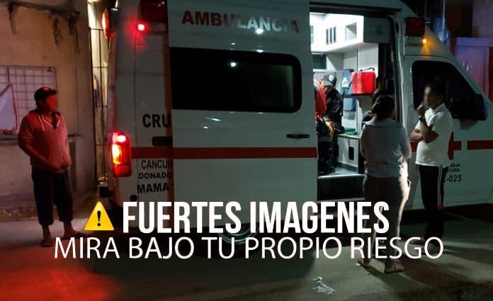 Cancún: Sujeto cansado del ruido intenta matar a sus vecinos fiesteros