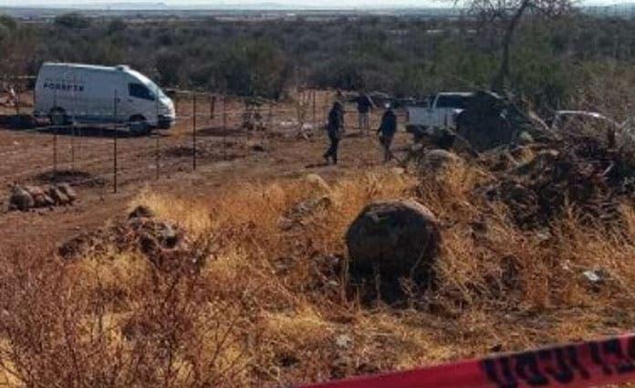De inmediato se procedió a asegurar el lugar, se pidió la asistencia de personal forense para levantar el cuerpecito.