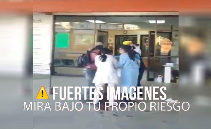 Los hechos se dieron a las afueras del Hospital San Pablo Huixtepec en la ciudad de Oaxaca.
