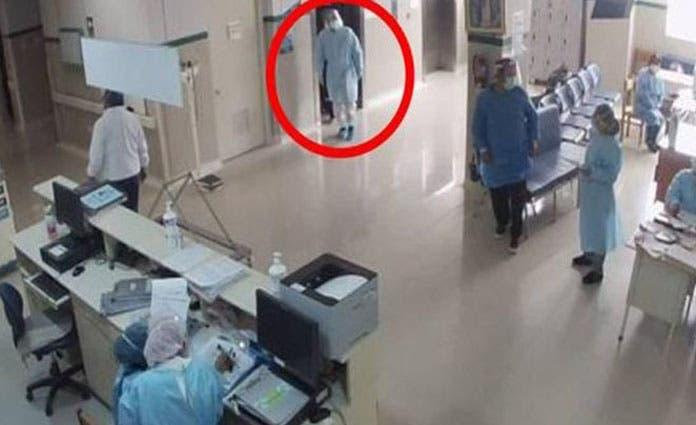 El padre del oficial ingresó el 9 de febrero, con síntomas graves de coronavirus, además de un cuadro de diabetes no controlada.