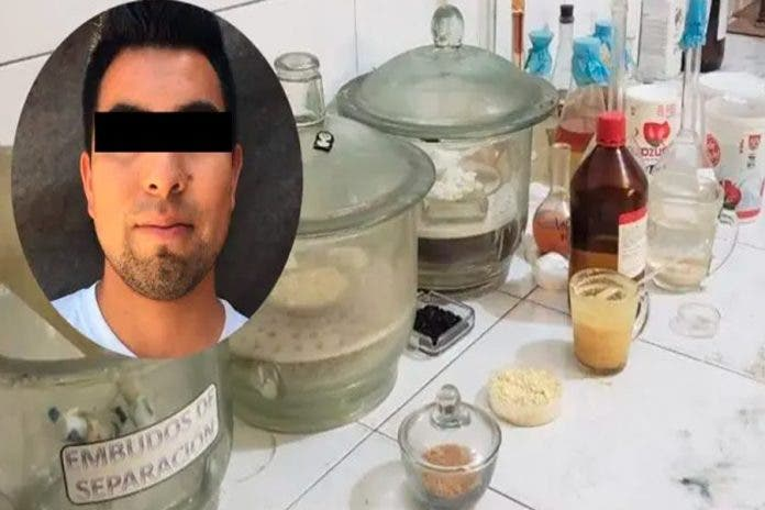 Estudiante química drogas narcos