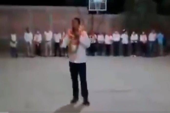 Mitin candidato balzos Guerrero