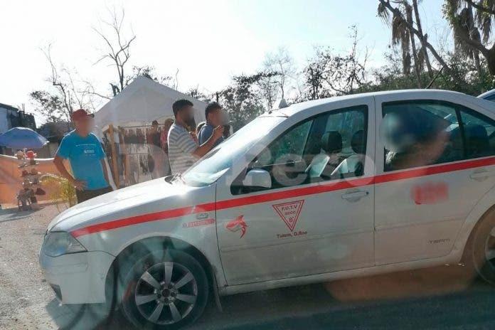 Sicarios ejecutan a balazos a pasajero de taxi en Tulum