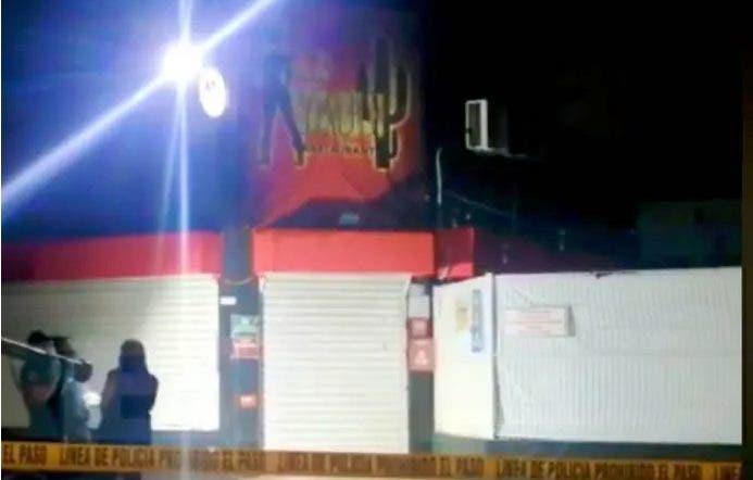 abren fuego bar Mérida
