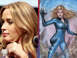 Emily Blunt podría participar en la nueva versión de Los 4 Fantásticos