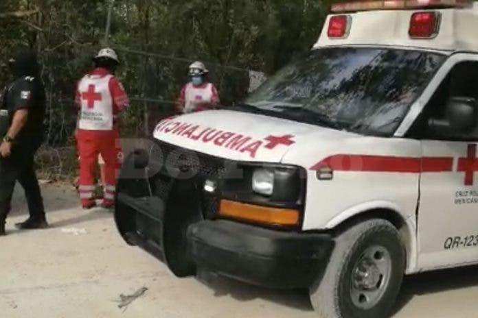 Hombre -resulta -herido-Playa del Carmen