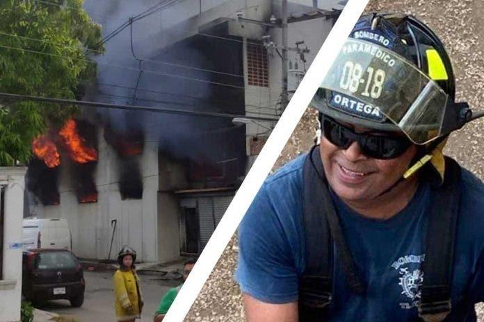 Jesús Manuel bombero