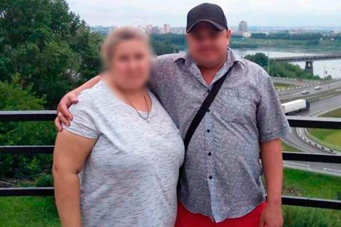 Mujer muerte marido sentarse