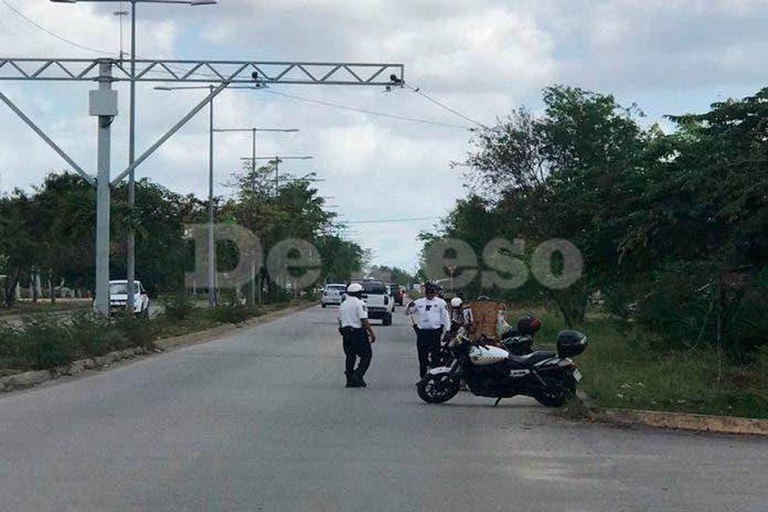 Cancún: operativo vehículos robados