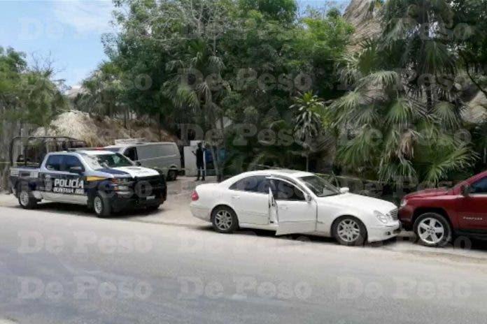 Ejecutan personas Mercedes Benz Tulum