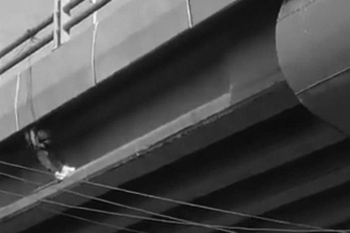 portada- Joven se cuelga puente torreon