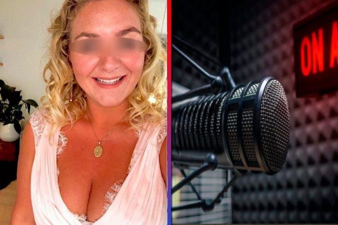 Reportera se graba teniendo relaciones sexuales en programa en vivo