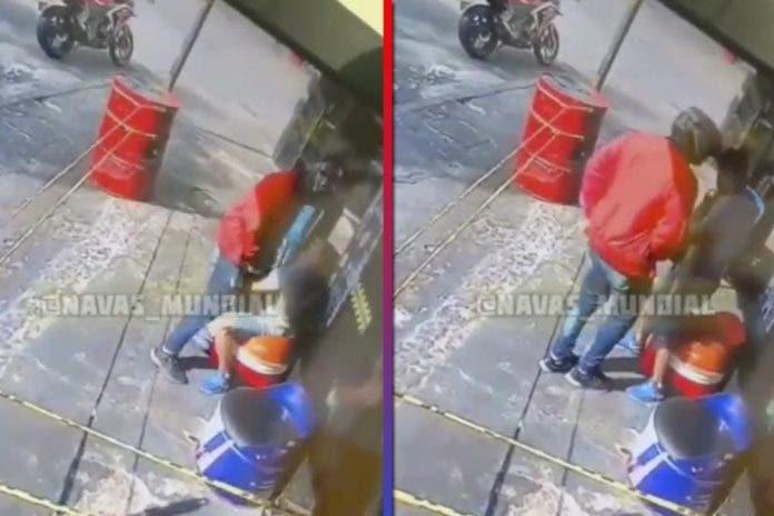 Ladrón atraca a sujeto
