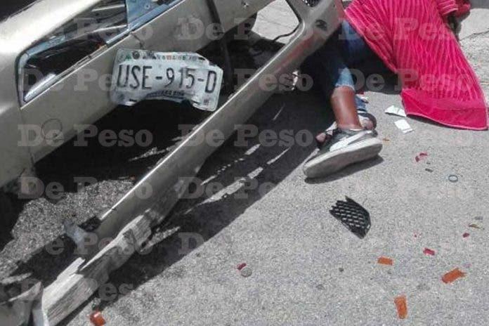 atropella asaltaron Cancún