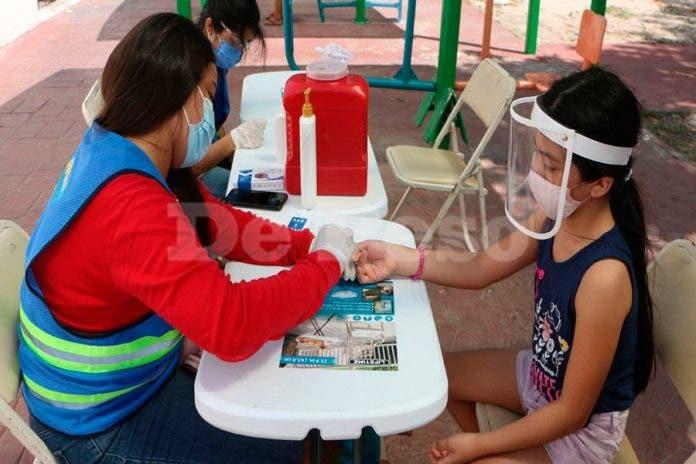 Cancún COVID niños