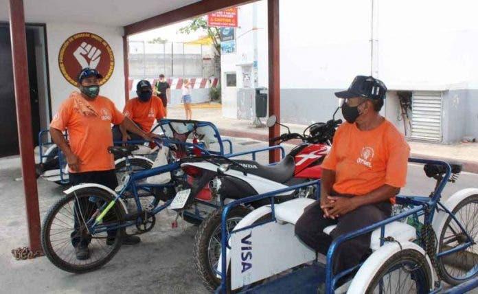 Tricicleros de Playa del Carmen esperan mejores ganancias este verano