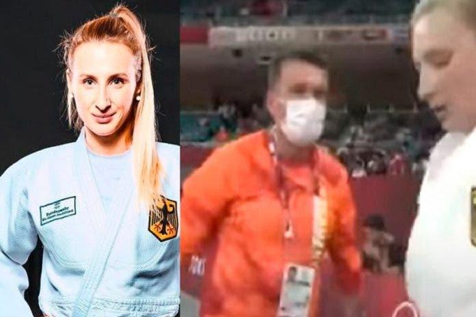 Viral: Entrenador cachetea a deportista en plenos Juegos Olímpicos