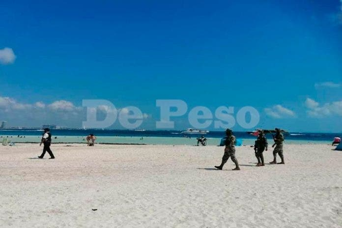 operativos playas Cancún