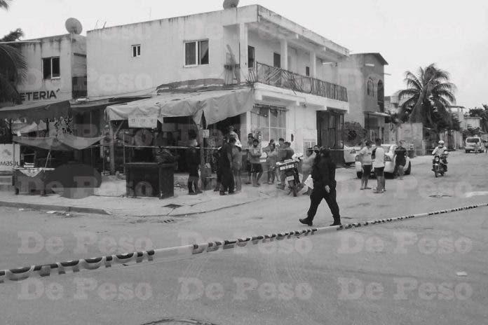 Comerciante asesinada en Playa del Carmen fue víctima del préstamo gota a gota
