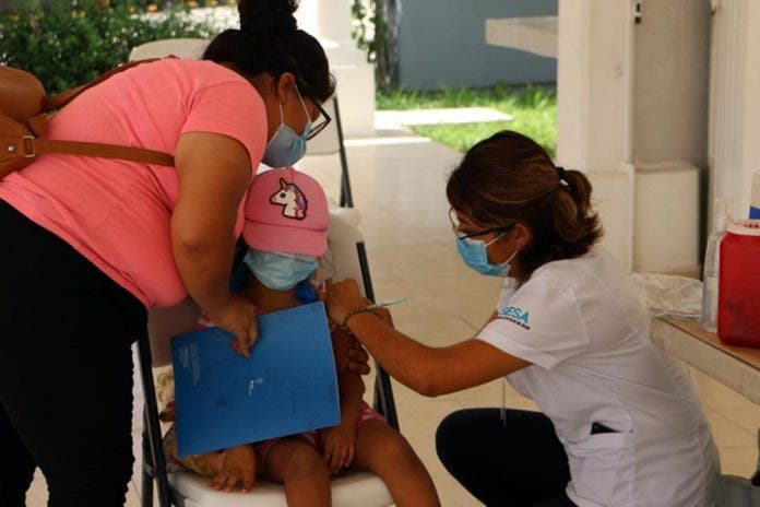 Inicia Campaña de Vacunación del Menor de cero a ocho años en Cancún