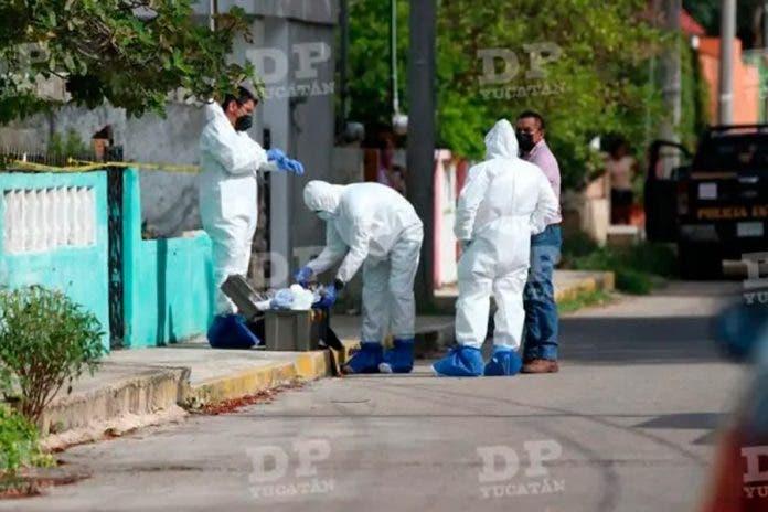 matan hombre casa Mérida
