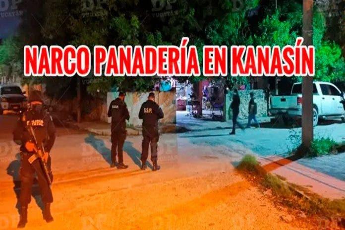 Catean narco-panadería en Yucatán y detienen a cuatro