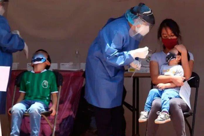 Secretaría de Salud confirma el incremento de casos positivos en niños