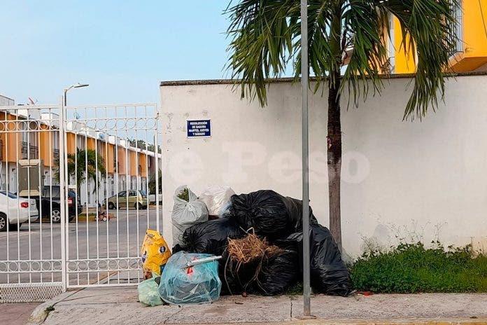 trabajadores basura calles Chetumal