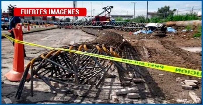 """En su primer día de """"chamba"""" cinco trabajadores mueren aplastados"""