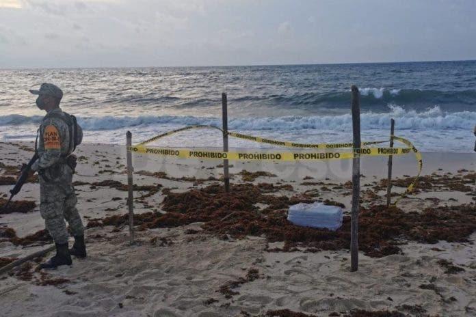 Recalan 30 kilos de cocaína pura en la costa oriental de Cozumel