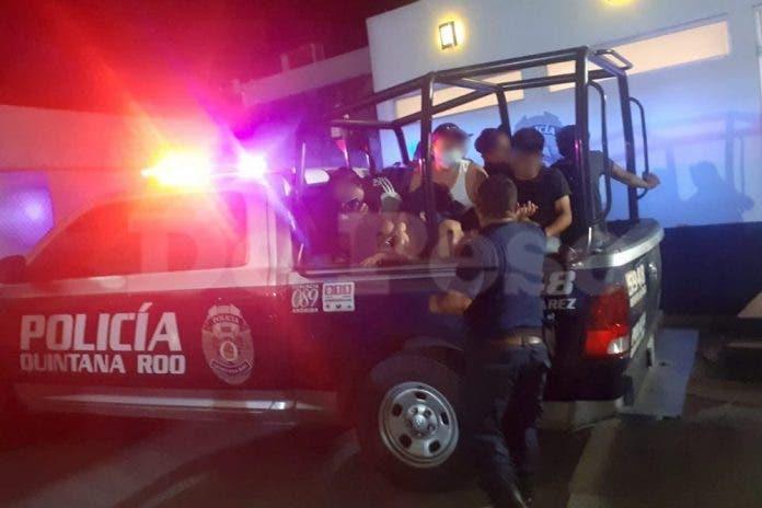 detenidos Cancún