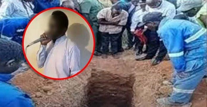 pastor enterrado vivo
