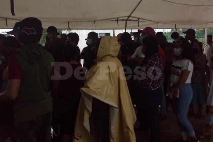 Cancelan jornada de vacunación en Bacalar