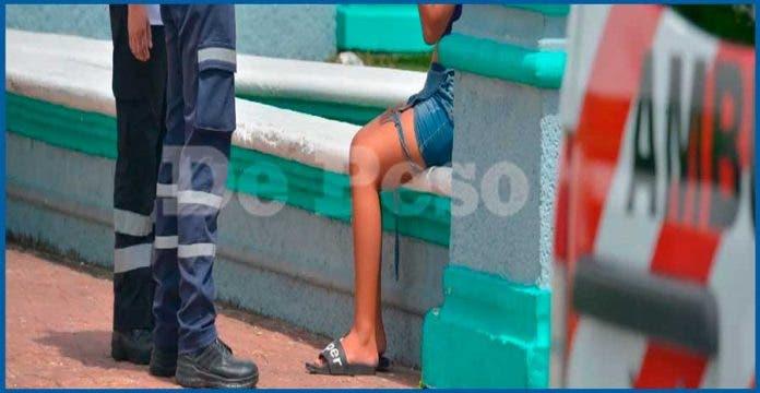 Mujer de 20 años huye de casa para evitar más golpes de su pareja